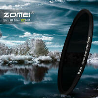 Zomei 25/30/37/49/52/55/58/62/67/72mm 720nm Infrared IR filter for camera DSLR
