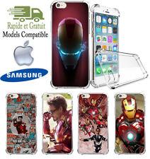 IRON MAN AVENGERS Silicone COQUE Case Cover HOUSSE Funda iphone samsung