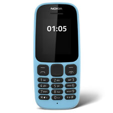 NOKIA 105 SIM-FREE GSM MOBILE PHONE - BLUE **2017 EDITION**