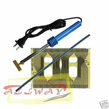 Flat cable for Audi A4 VDO instrument cluster add soldering T-iron