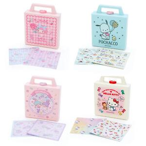 Japan Sanrio Hello Kitty Pochacco My Melody Little Twin Stars Mini Case & Memo