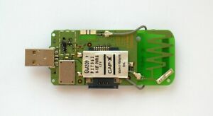 MINI PCI-E (MINI PCI EXPRESS) WWAN 3G MODEM TO USB ADAPTER SIM CARD SLOT ANTENNA