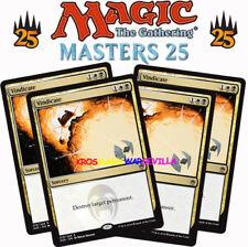 MTG 4 X VINDICATE - Vindicar - MASTERS 25 ENGLISH Magic