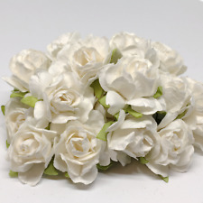 Ivory Classic Mulberry Paper Roses Cr004