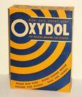 Vtg NOS UNOPENED Medium Size BOX OXYDOL Laundry Powder Dish DETERGENT Soap 9 oz