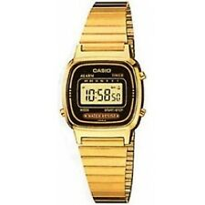 Ladies Casio Digital Gold Tone Watch La670we