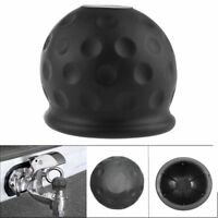 50mm New Black Rubber Tow Bar Ball Case Towball Protect Car Hitch Cover