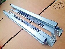 "10 Pair 15"" Drawer Slides Concealed Undermount Framed Hydraulic Self Soft Close"