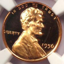 1956 Proof Lincoln Wheat Cent 1C - NGC PR67 RD Ultra Cameo (PF67) - $1,100 Value