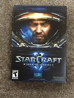 "PC DVD-ROM ""StarCraft II: Wings of Liberty"" New In Box"