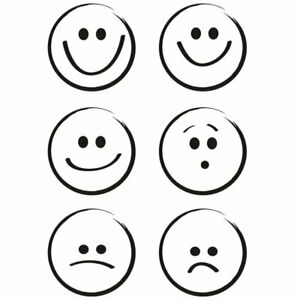Smileys / Smile - Stempel / Clearstamp  von efco (4511248)