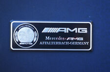 1pcs Car Side Emblem Rear Badge Fender Sticker Decal AMG Logo For Mercedes-Benz