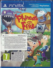 PS VITA Phineas & Ferb Day of Doofensmirtz (Czech Import) plays English