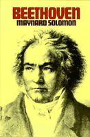 Beethoven Hardcover Maynard Solomon