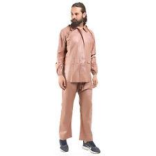 Rain Jacket Waterproof Coat Men Hooded with two Front Pockets Outwear Two Piece