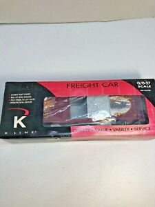 K-Line O Scale Anheuser-Busch Clydesdale's Holiday Boxcar  in Box