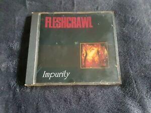 Fleshcrawl Impurity Original CD 1993 First Press