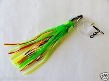 7 inch Bullet Jet Head Rigged MEXICA Saltwater Trolling Fishing Lures -1 Pieces