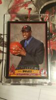 2003-04 Topps Basketball #225 Dwyane Wade Rookie RC Black border  308/500! RARE!