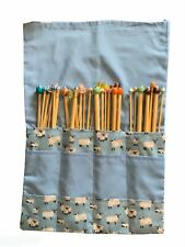 SPECIAL OFFER, BUMPER KNITTING NEEDLE SET, 18 PAIRS, GRAB A BARGAIN, NEW CASES!!