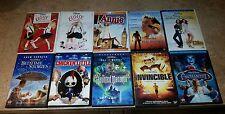 10 Disney DVD Lot - INVINCIBLE/ ICE PRINCESS /ELOISE (10 CHILDREN KID'S DVDS)