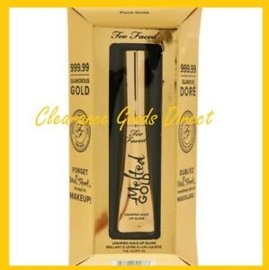 Too Faced Melted Gold Liquified Lip Gloss 7ml Authentic UK Seller