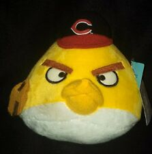 "Cincinnati Reds Yellow Angry Bird Baseball Plush 5-1/2"" tall-MLB Genuine Mdse"