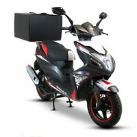 Food Delivery Takeaway Pizza Deliveroo Top Box + Wood for Motorcycle & Scooter