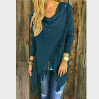Fashion Women Spring Loose Long Sleeve Tops Blouse Shirt Casual Spandex T-Shirt