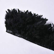 1M Turkey Feather Fringe Ribbon Trim Wedding Stage Decor Craft  Sewing 26 Colors