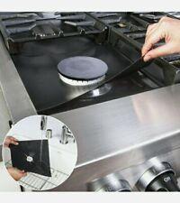 12pk Gas Range Stove Top Burner Cover Protector Reusable Liners