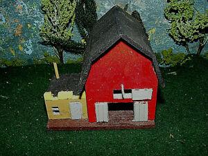 N Scale Custom Built All WOOD Old Time  Barn  FILE 4808