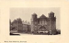 CHATHAM KENT UK ROYAL NAVY HOSPITAL~ARCADIA BAZAAR SERIES POSTCARD