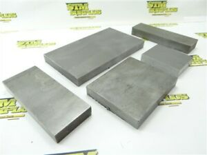 """20LB ASSORTED STEEL STOCK 3/4"""" THICK 3-1/2"""" TO 8"""" LENGTHS"""