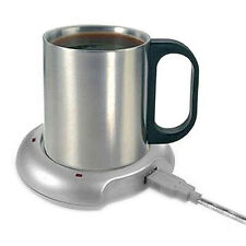 Fast USB Tea Coffee Warmer Heater Cup Mug Pad 4 Port USB Hub Office PC Laptop