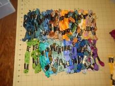 120 Skeins Embroidery Floss Thread Cross Stitch Crafts   DMC       Lot #16