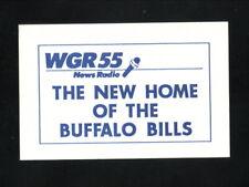 Buffalo Bills--1990 Pocket Schedule--WGR