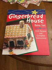 Gingerbread House 10 Pc Cookie Biscuit Cutter Mold Bake Set Holiday Fox Run NIP
