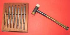 New listing Lyman Deluxe Hammer & Punch Set, Gunsmith Punches plus Brass Tapper Hammer