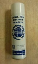 Label and Graffiti Remover Aerosol Easy to Use NO CFCs remove Ink,felt tip,paint