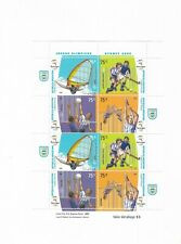 ARGENTINA 2000 OLYMPIC GAMES SIDNEY 2000 SPORTS MINI SHEET 2 SETS MNH VF