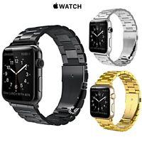 CINTURINO per Apple Watch series 5 4 3 2 1 ACCIAIO INOX INOSSIDABILE 44 42 mm