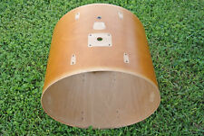 """YAMAHA 22"""" STAGE CUSTOM NATURAL BASS DRUM SHELL for YOUR SET! LOT #318"""