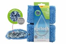 e-cloth Microfibre 2 Absorbent Fresh Mesh Kitchen Bathroom Cleaning Pads SC1