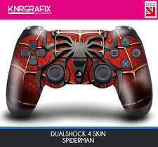 KNR6419 SPIDERMAN DUALSHOCK 4 PREMIUM SKIN DS4 STICKER