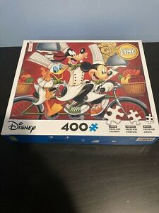 Ceaco - Disney Fine Art - Wheeling In Flavor - 400 Piece Jigsaw Puzzle Complete