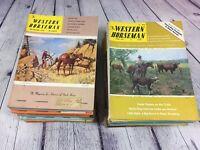 40 Western Horseman Magazines 1970's Lot / Riding Cowboy