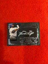 Prince Fielder 2015 Topps Five Star Silver Signatures Green Auto Card #PF, 12/15