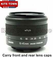 EF-M 15-45mm f/3.5-6.3 STM Black Zoom Lens for Canon EOS M3 M5 M6 M100 M10 M50