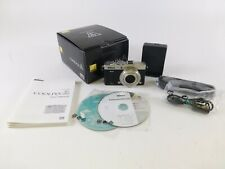 Nikon Coolpix A Silver Digital Point & Shoot in OEM Box with Accessories, in EC.